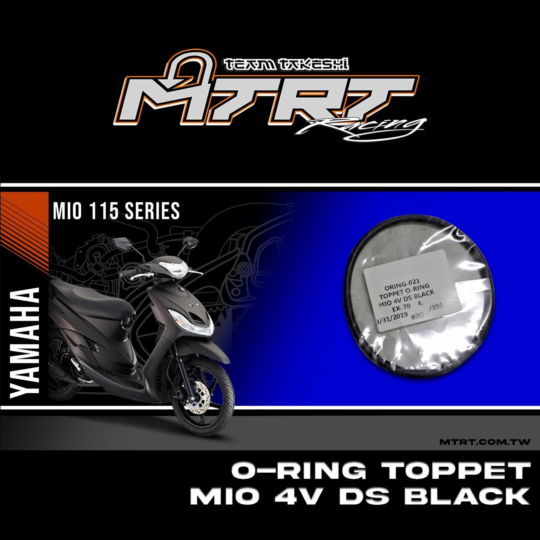 TOPPET O-RING 4V BLACK EX