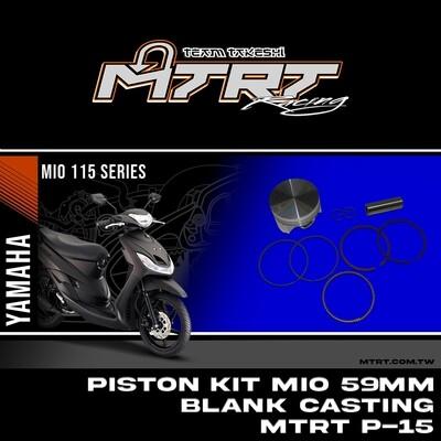 PISTON  KIT  MIO 59MM FLAT Blank CASTING MTRT