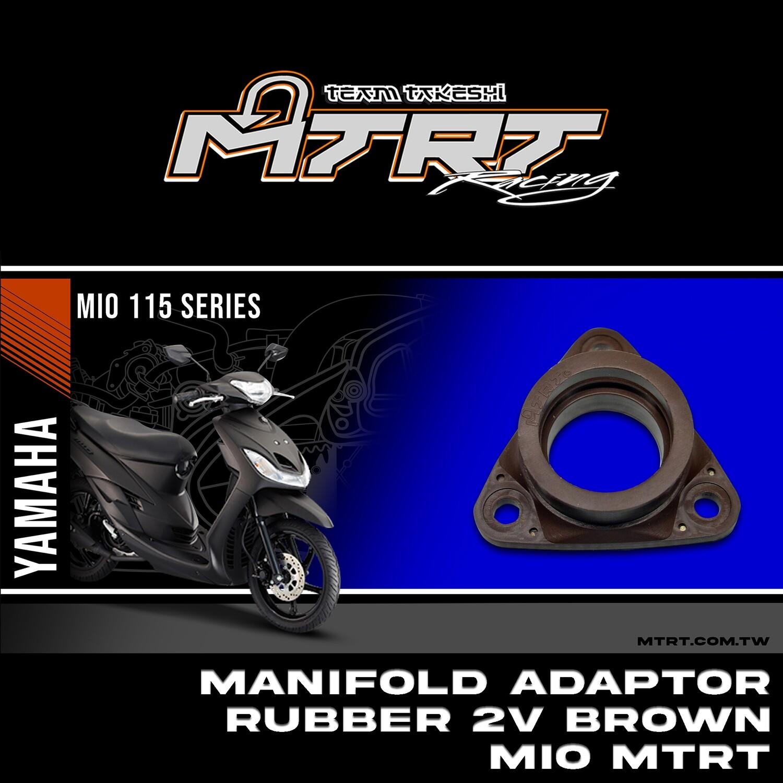MANIFOLD ADAPTOR_RUBBER 2V BROWN