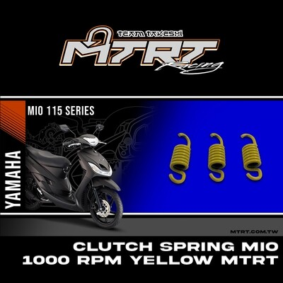 CLUTCH SPRING MIO Beat Skydrive 1000RPM Yellow MTRT