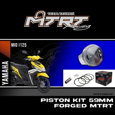 PISTON  KIT  MIOi125  59MM FORGED pin13  MTRT