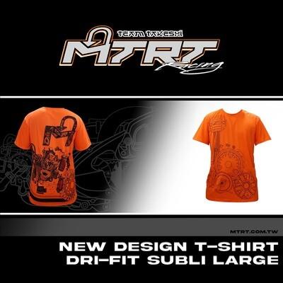 NEW DESIGN T-SHIRT DRI-FIT SUBLI LARGE
