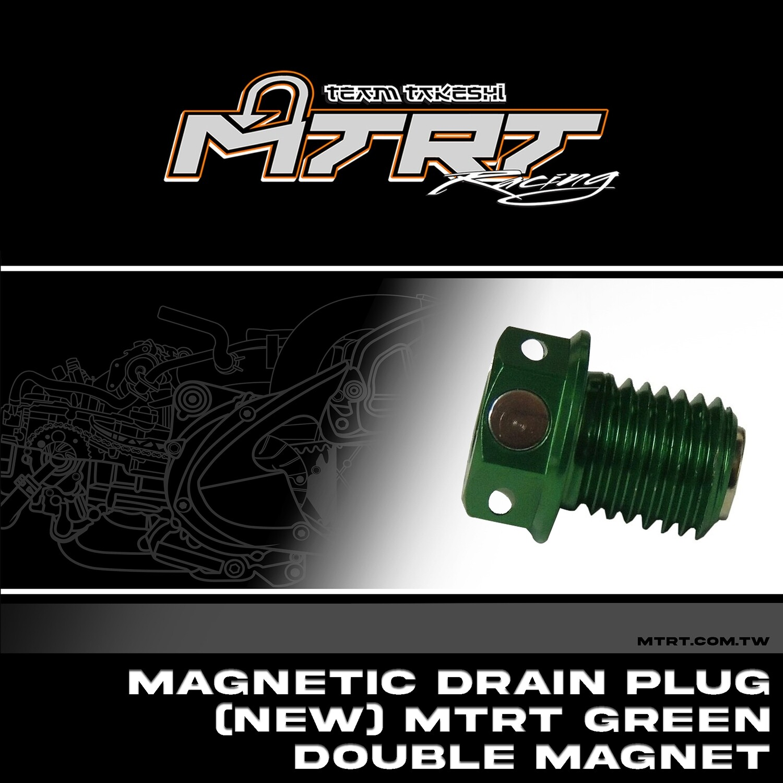 DOUBLE MAGNETIC DRAIN SCREW GREEN MIO MTRT