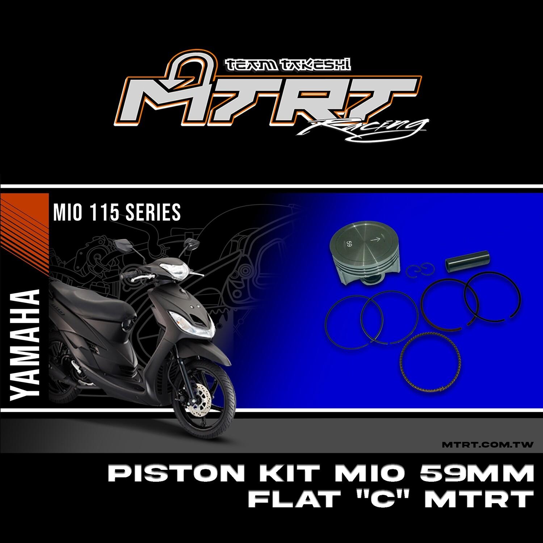 PISTON KIT MIO 59MM FLAT ( C ) MTRT