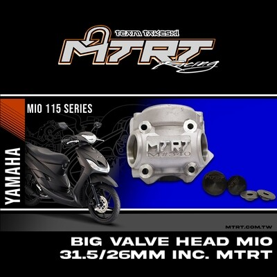 BIG VALVE HEAD MIO 31.5/26MM INC. with ( retainer and valve seat only ) MTRT