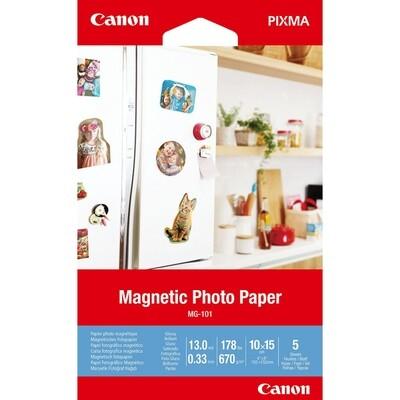 Magnetic Photo Paper MG-101 10X15  5 sh