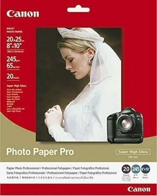 Poto Paper Pro PR-101 20X25 (245g) 20 sh