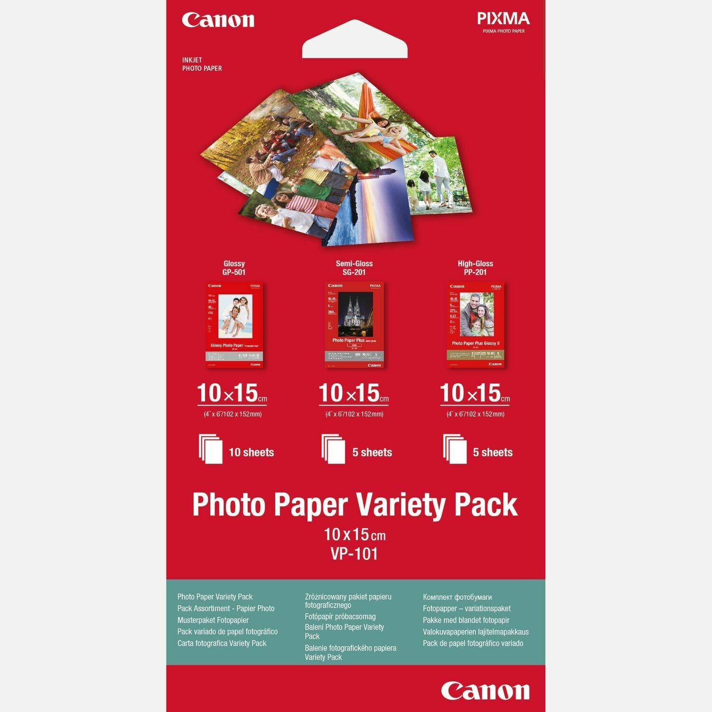 Photo Paper Variety Pack VP-101  10x15cm