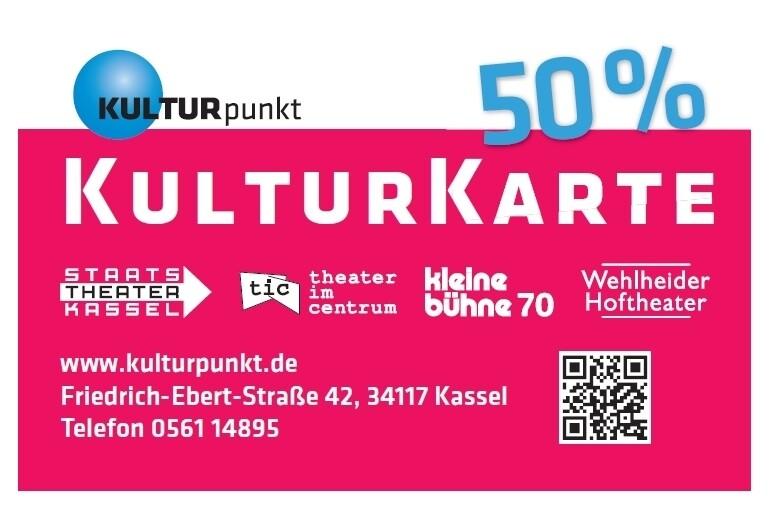 KulturKarte 50%