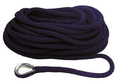 Treccia Mooring Blue Navy Diam. 12 mm. con Redancia