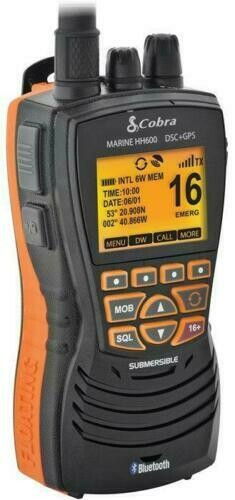 VHF COBRA MR HH600 GPS BT EU