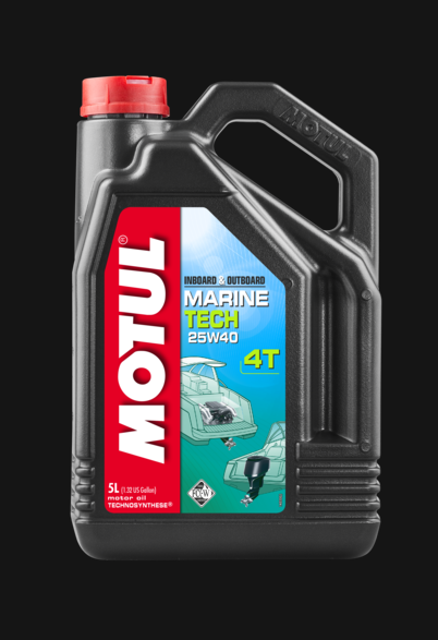 MOTUL MARINE TECH 25W40 LT. 5