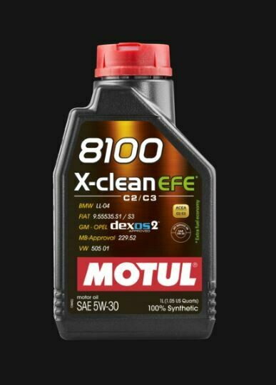 MOTUL 8100 X-CLEAN EFE 5W30 LT. 5