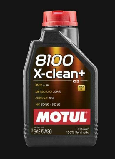 MOTUL 8100 X-CLEAN + 5W30 LT. 1