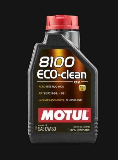 MOTUL 8100 ECO-CLEAN 0W30 LT. 1