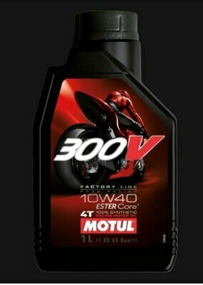 MOTUL 300V FL ROAD RACING 10W40 LT. 1