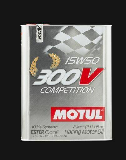 MOTUL 300V COMPETITION 15W50 LT. 2