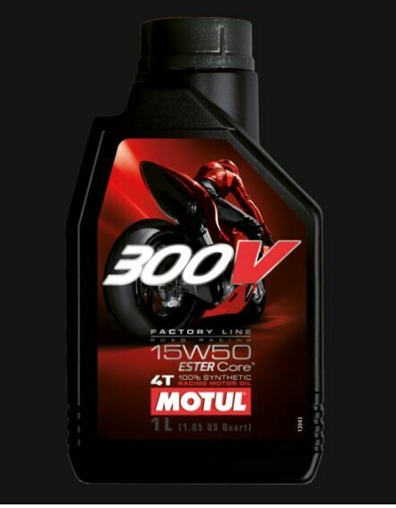 MOTUL 300V FL ROAD RACING 15W50 LT. 1