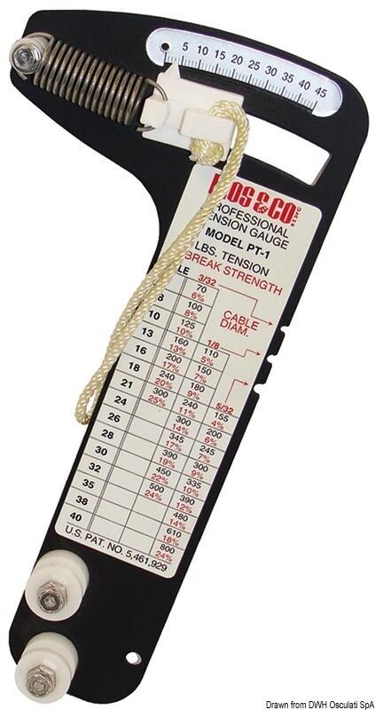 Tensiometro professionale RT1 Loos per tondino 10 mm