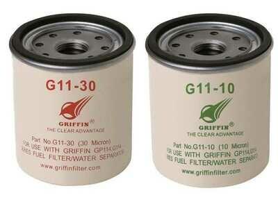 Cartucce per filtri separatori diesel Griffin