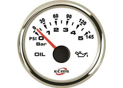 Indicatore pressione olio 0-5 bar ECMS