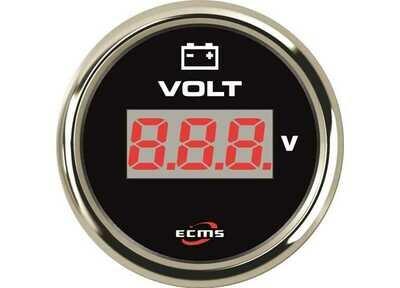 Voltmetro 12/24V ECMS