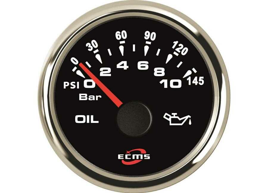 Indicatore pressione olio 0-10 bar ECMS