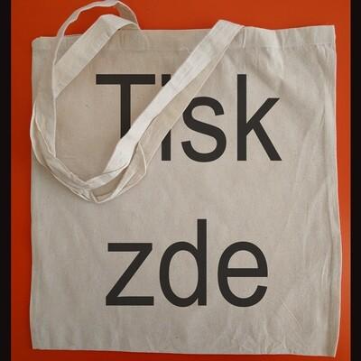 Bavlněná taška 38x41 cm