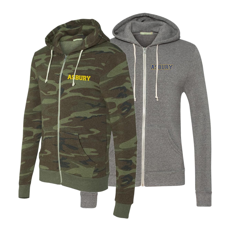 Adult Eco-Fleece Full-Zip Hooded Sweatshirt