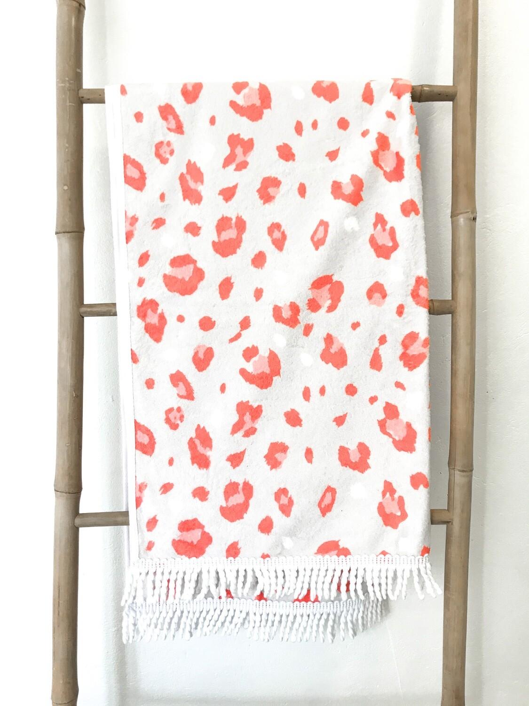 Aperol Leopard Towel