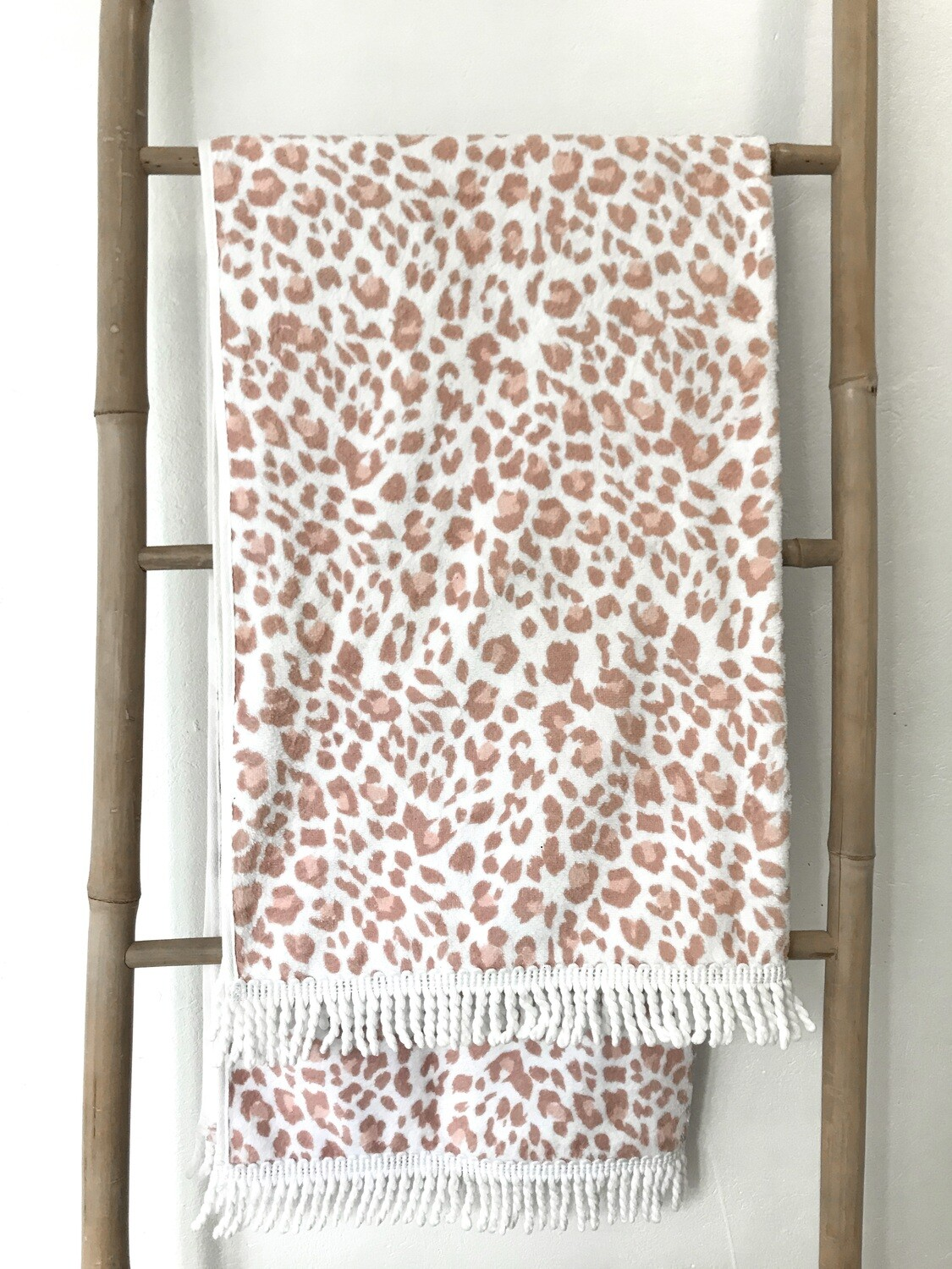 Blush Leopard Towel