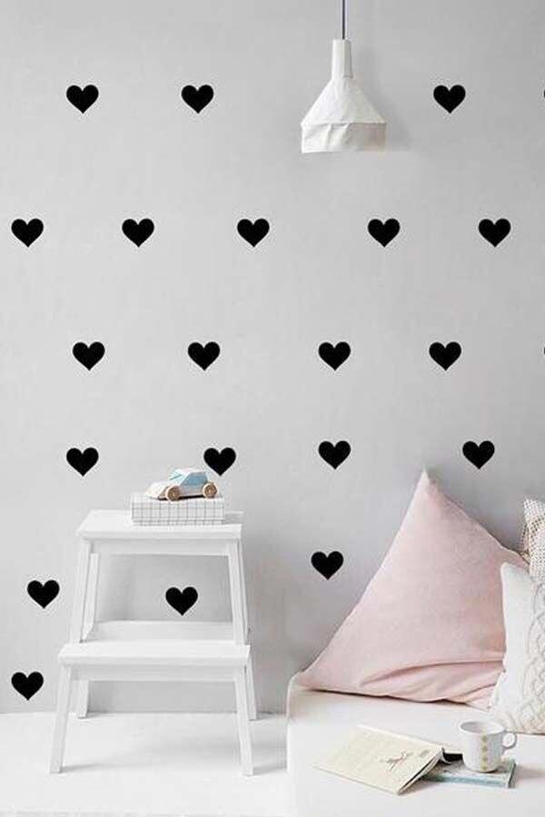 Patrón de 100u de corazones DJPAT01