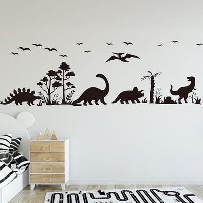 Dinosaurios Caminando con Palmeras DJDIN07