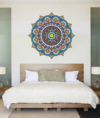 Mandala de colores DJMAND01