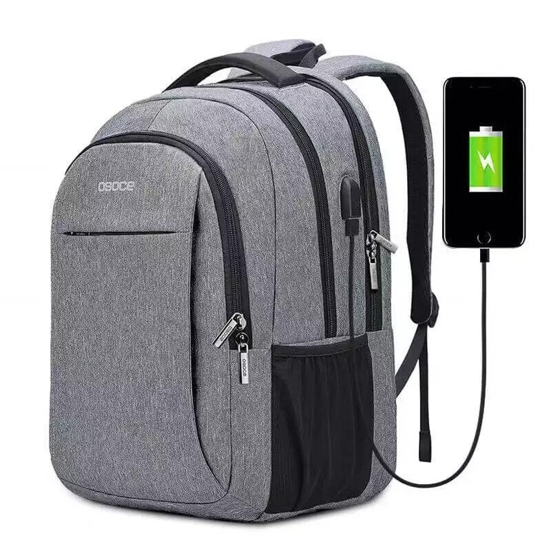 Water proof laptop backpack with USB port