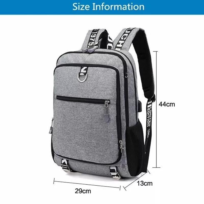 Mens muti organize backpack