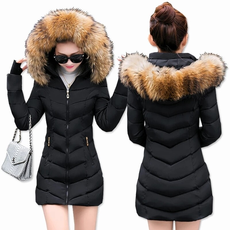 womens winter belled jacket