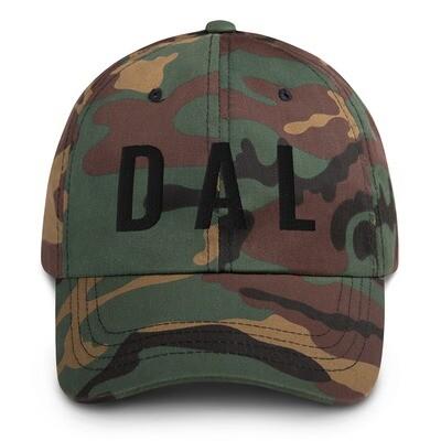 DAL Camo hat