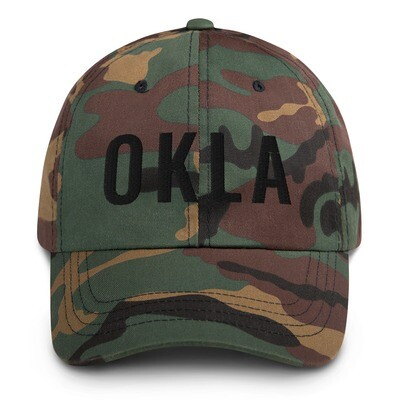 Camo OKLA hat
