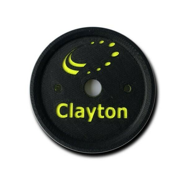 Clayton 3D Wheel Coaster