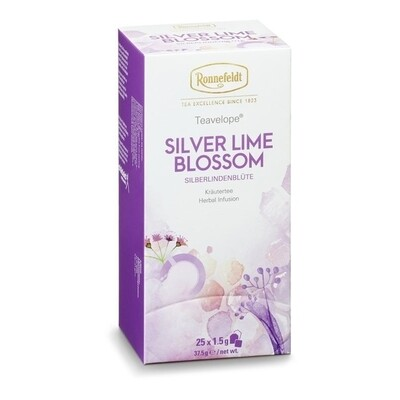 Teavelope Silver Lime Blossom Tea Infusion