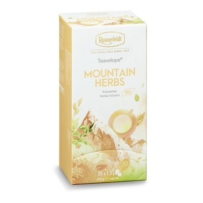 Teavelope Mountain Herbs Organic Tea Infusion