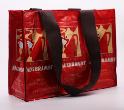 Hausbrandt Shopping Bag - Recyled coffee bags