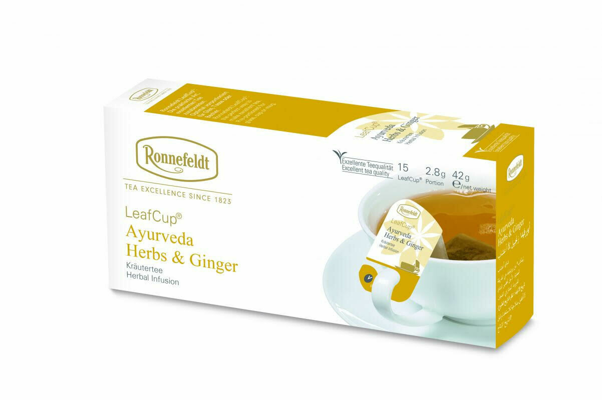 LeafCup Ayurveda Herbs & Ginger Tea (45)