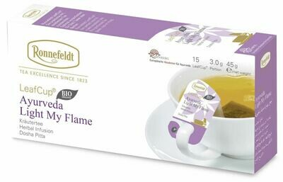 LeafCup Light My Flame Organic Tea  (45)