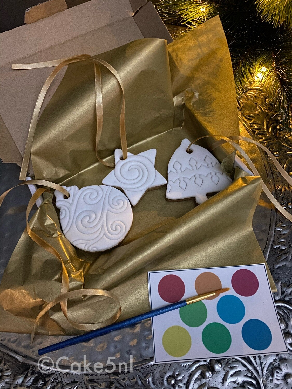 Kerst Koekjes voor in de boom