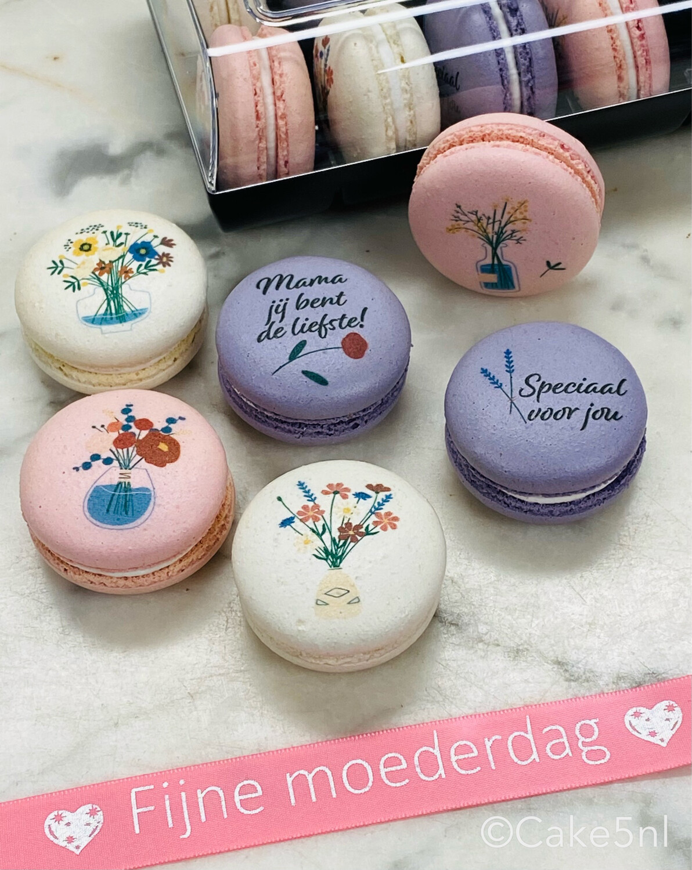 Moederdag Macarons