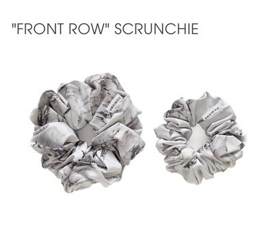 Front Row Scrunchie- Large