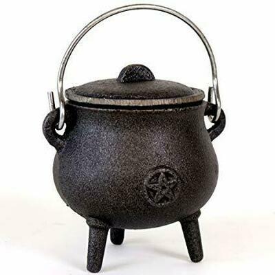 Cauldron -  Cast Iron Cauldron w/lid