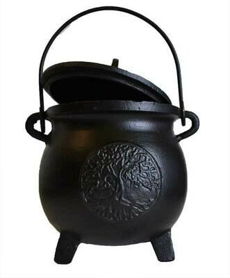 Cauldron - Cast Iron With Lid